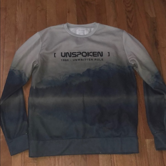 "purchase authentic novel design moderate cost men's ""unspoken"" light sweater"